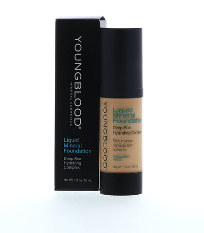 Youngblood Liquid Mineral Foundation - Sand, 1 oz