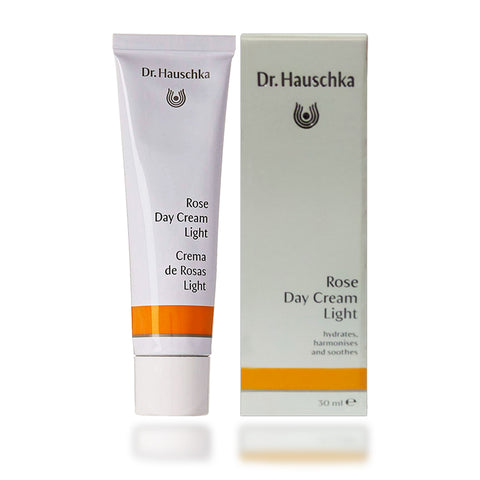 Dr. Hauschka Rose Day Cream Light, 1 oz