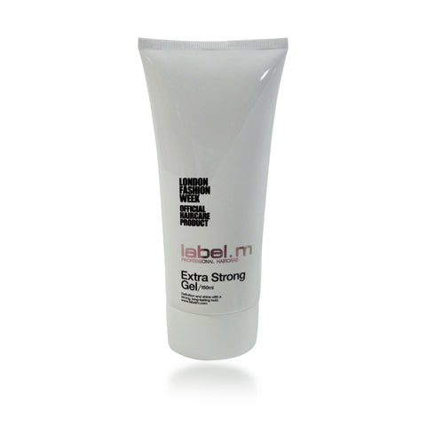 Label. M Extra Strong Gel, 5 oz