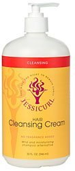 Jessicurls Hair Cleansing Cream - Citrus Lavender, 32 oz