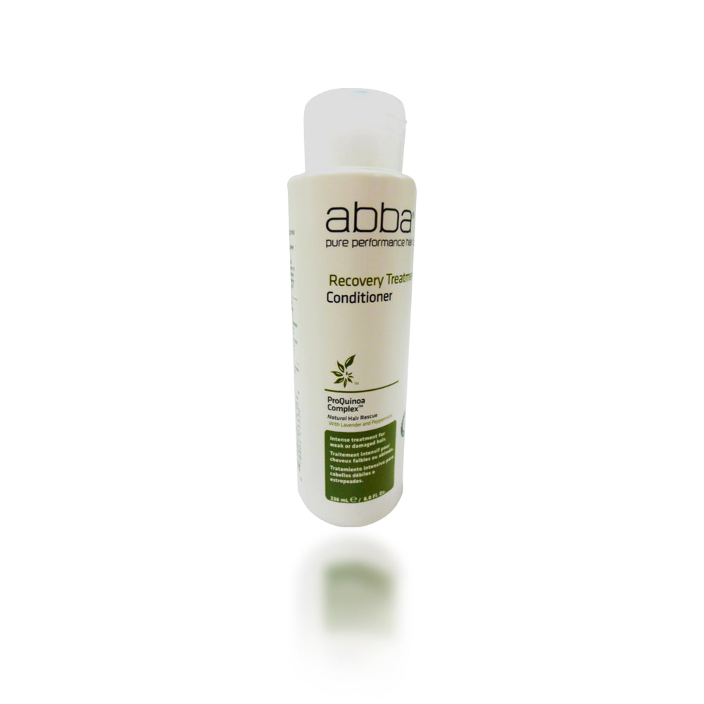 Abba Pure and Natural Hair Care Recovery Treatment Conditioner 8 Ounce