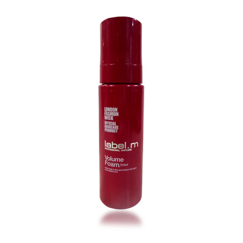 Label. M Volume Foam 210 ml / 7.1 oz
