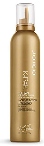 Joico K-PAK Thermal Design Foam for Protective Styling, 10.1 oz