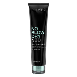 Redken No Blow Dry Just Right Cream for Medium Hair, 5.1 oz