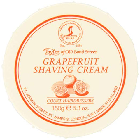 Taylor of Old Bond Street Grapefruit Shaving Cream, 5.3 oz