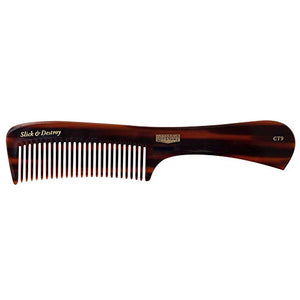 Uppercut Deluxe CT9 Tortoise Shell Styling Comb - Brown