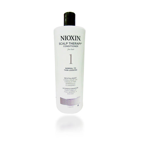 Nioxin System 1 Scalp Therapy Conditioner, 33.8 oz