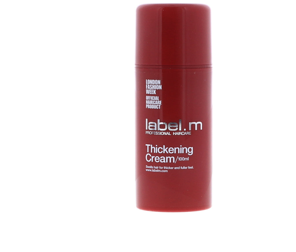 Label. M Thickening Cream, 3.4 oz