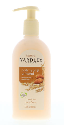 Yardley Oatmeal Almond Liquid Hand Soap 8.4 oz