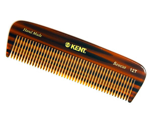 Kent 12T 146Mm Pocket Comb - Thick Hair Coarse