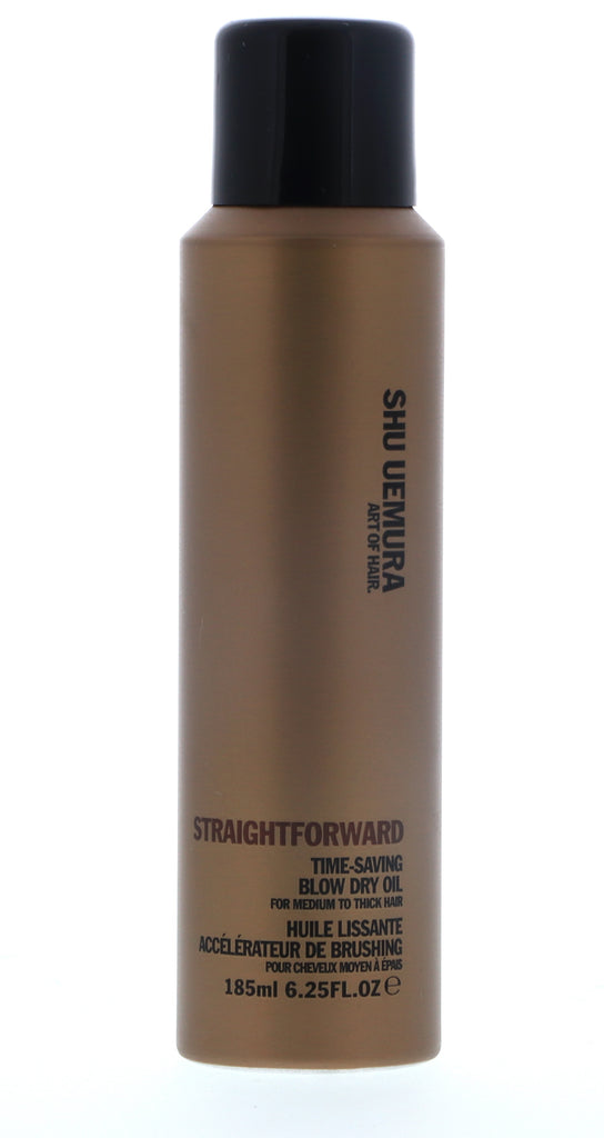 Shu Uemura Art of Hair: Straight Forward Time-Saving Blow Dry Oil 185 ml / 6.25 oz