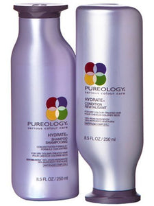 Pureology Hydrate Shampoo and Conditioner Set 8.5oz New Packaging