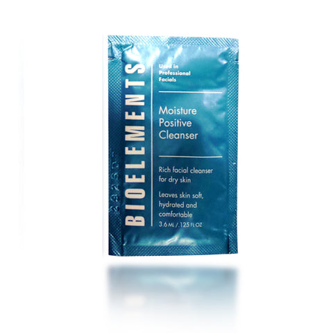 Bioelements Moisture Positive Cleanser, foil pack, 0.125oz
