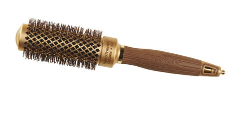 Olivia Garden Nano Thermic Ceramic Ion Brush, 1 1/4 Inch
