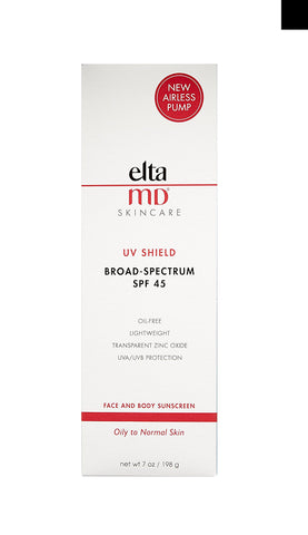 EltaMD UV Shield Broad-Spectrum SPF 45 Face & Body Sunscreen, 198 g / 7 oz