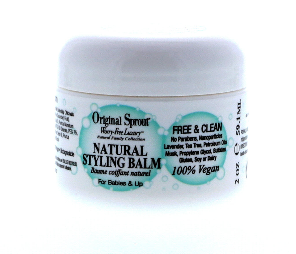 Original Sprout Natural Styling Balm, 2 oz