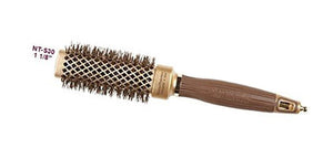 Olivia Garden NanoThermic Ceramic Ion Shaper Brush, 1 1/8 Inch