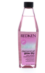Redken Diamond Oil Glow Dry Gloss Shampoo, 10.1 oz