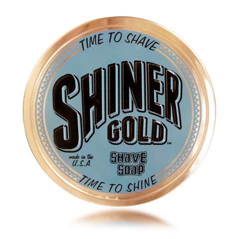 Shiner Gold Shave Soap 3 oz / 85 grams