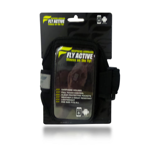 Fly Active iPhone 6 Neoprene Armband Black