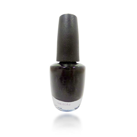 OPI Black Onyx Nail Polish, 15 ml / 0.5 oz