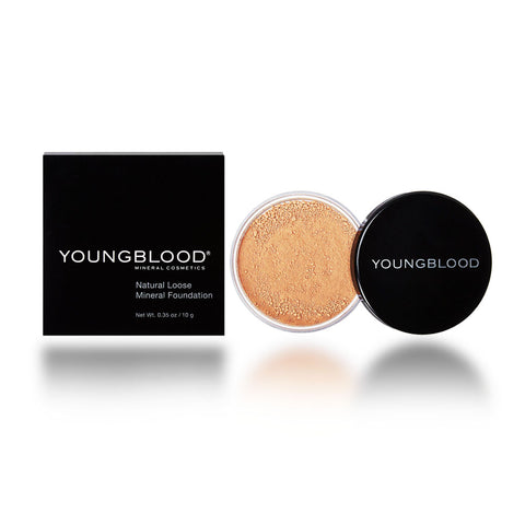 Youngblood Loose Mineral Foundation, Sunglow, 10 Gram/0.35oz