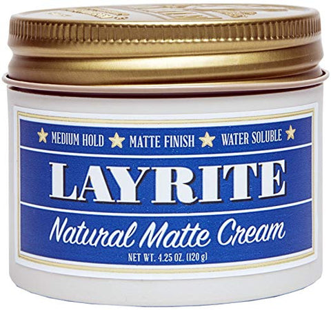 Layrite Natural Matte Cream, 4.25 oz