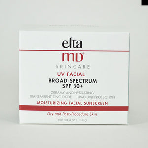 EltaMD UV Facial Broad-Spectrum SPF 30+ Moisturizing Facial Sunscreen, 114 g / 4 oz