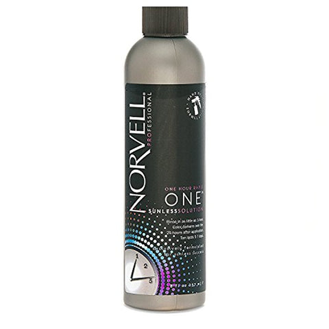 Norvell One Hour Rapid One Sunless Solution - Raspberry Almond, 8 oz