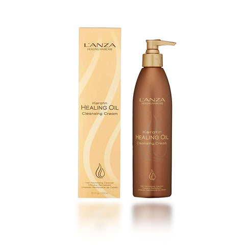 Lanza Keratin Healing Oil Cleansing Cream, 10.1 oz