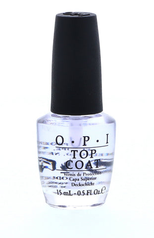 OPI Top Coat Nail Polish, 15 ml / 0.5 oz