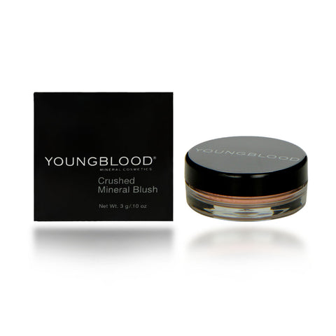 Youngblood Crushed Mineral Blush, Sherbet, 3 Gram / 0.10 oz