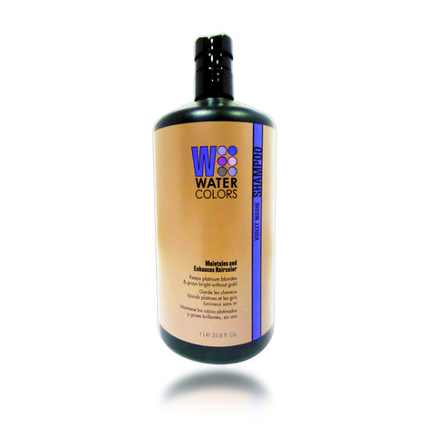 Tressa Water Colors Violet Washe Shampoo, 33.8 oz