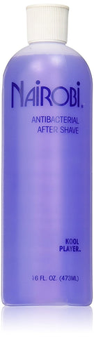 Nairobi Kool Player Antibacterial After Shave - Purple, 16 oz