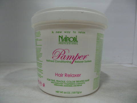 Nairobi Pamper Hair Relaxer, 64 oz ID: 365100597