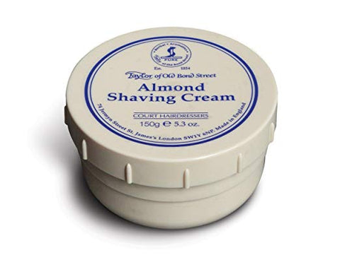 Taylor of Old Bond Street Almond Shaving Cream, 5.3 oz