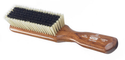 Kent CP6 - A 'cashmere' care clothes brush, made from mahogany and black and white soft bristle