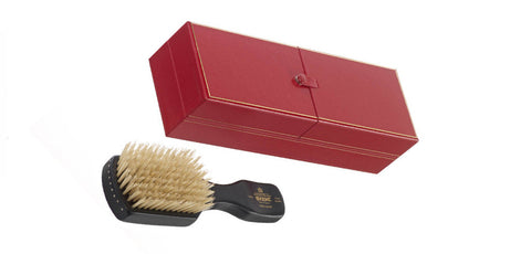 Kent OHE1 - Handmade - ebony wood, pure white bristle in presentation box.