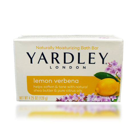 Yardley Lemon Verbena Bath Bar, 4.25 oz
