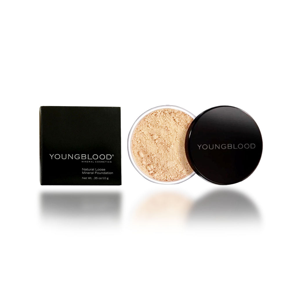 Youngblood Loose Mineral Foundation, Soft Beige, 10 Gram / 0.35 oz