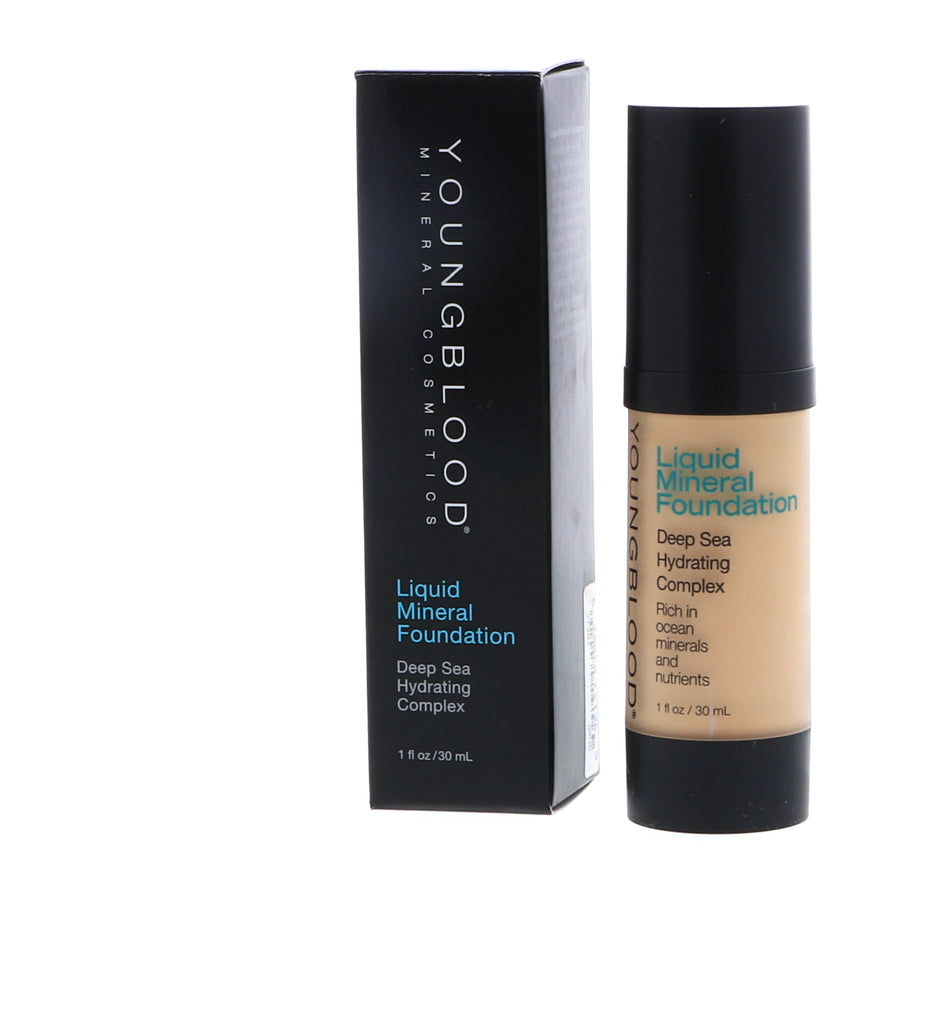 Youngblood Liquid Mineral Foundation - Shell - 30 ml / 1 oz