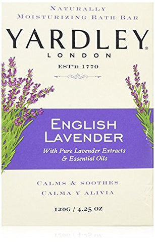 Yardley English Lavender Bath Bar, 4.25 oz