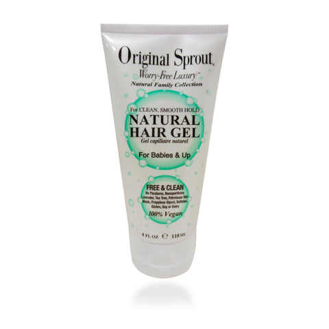 Original Sprout Natural Hair Gel, 4 oz