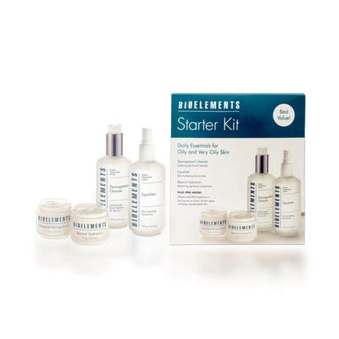 Bioelements Starter Kit Great Skin In A Box, Oily 17 oz