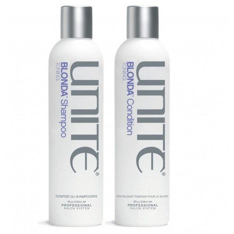 Unite Blonda Shampoo 8 oz , Conditioner 8 oz Set