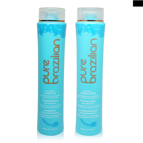 Pure Brazilian Anti-Frizz Shampoo and Conditioner 13.5oz Duo Set