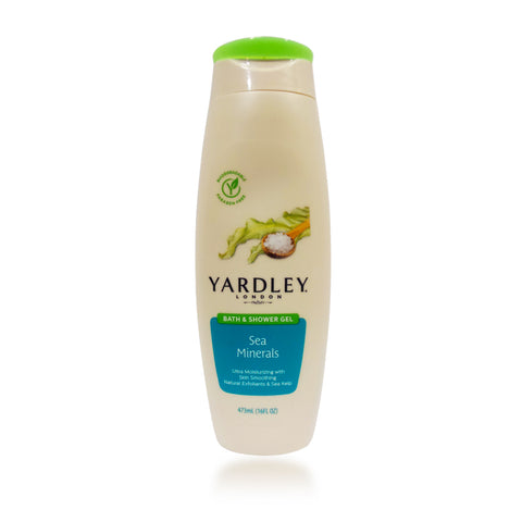 Yardley Sea Minerals Bath & Shower Gel 16 oz