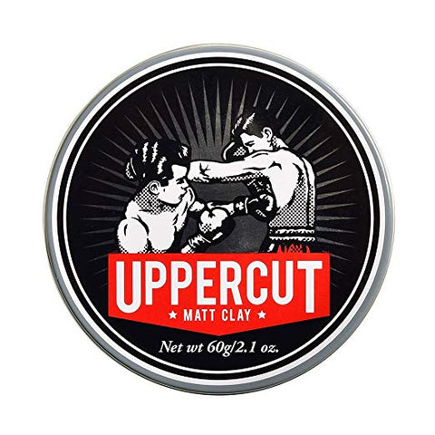 Uppercut Deluxe Matt Clay Pomade, 2.1 oz