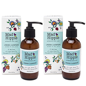 Mad Hippie Cream Cleanser, 4 oz Pack of 2