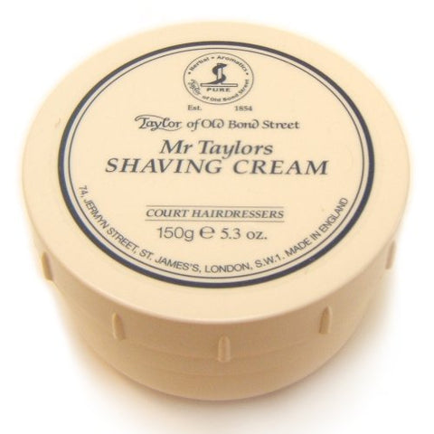 Taylor of Old Bond Street Mr. Taylor's Shaving Cream, 5.3 oz